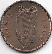 Ireland  1 Penny  1966  Km 11  Xf+ - Irlande