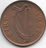 Ireland  1 Penny  1968  Km 11 - Irlande