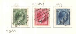Lussemburgo PO 1929 Granduchessa Charlotte Profilo DX Surch.  Scott.186+192+193+ See Scans Used - 1926-39 Charlotte De Perfíl Derecho