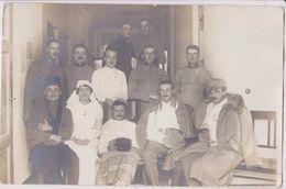 AUSTRIA / HUNGARY  --  K. U. K.   --  ORIGINAL PHOTO  --   OFFICER , HOSPITAL --  PC FORMAT - 1914-18