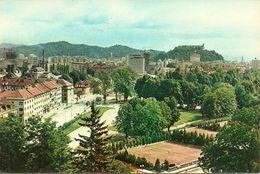 Ljubljana, Lubiana (Slovenia, Ex Jugoslavia) Partial View, Scorcio Panoramico, Raccourci - Slovenia