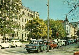 Ljubljana, Lubiana (Slovenia, Ex Jugoslavia) Centre De La Ville, Centro Città, Auto D'Epoca, Cars, Voitures - Slovenia
