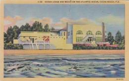 Florida Cocoa Beach Ocean Lodge and Beach On The Atlantic Ocean