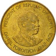 Kenya, 5 Cents, 1984, British Royal Mint, TTB, Nickel-brass, KM:17 - Kenya
