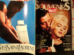 PARIS MATCH SOUVENIRS DE 1990. YVES MONTANT ET MARILYN MONROE CHURCHILL - Gente