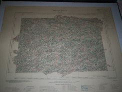 CARTE GEOGRAPHIQUE  G - Format  45 X 57 De LOT_LOT Et GARONNE_TARN Et GARONNE_Feuille  FUMEL_ XIV  31 ) En1903 - Geographische Kaarten