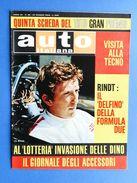 Rivista Automobilismo - Auto Italiana N° 26 - 1968 - G.P. Lotteria - Rindt - Books, Magazines, Comics
