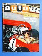 Rivista Automobilismo - Auto Italiana N° 31 - 1969 - Jackie Stewart - K. Tyrrell - Books, Magazines, Comics