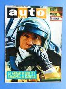 Rivista Automobilismo - Auto Italiana N° 25 - 1969 - Schetty - Ferrari - Rindt - Books, Magazines, Comics