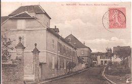 CPA -  Mollans - Maison Millot - Maison Commune Et Poste - France