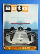 Rivista Automobilismo - Auto Italiana N° 12 - 1969 - Ferrari F1 Pininfarina - Livres, BD, Revues