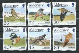 ALDERNEY. 2004 BIRDS - MIGRATING BIRDS .MNH Stamps - Alderney
