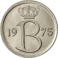 Belgique, 25 Centimes, 1975, Bruxelles, SUP, Copper-nickel, KM:154.1 - 02. 25 Centimes