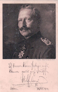 Allemagne, Rotes Kreuz, Kaiser Wilhelm  (13.11.1914) - Personnages