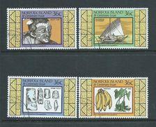 Norfolk Island 1986 Early Maori Occupation Set 4 FU - Norfolk Island