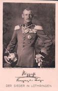 Allemagne, Rotes Kreuz, Der Sieger In Lothringen, Kronprinz Rupprecht Von Bayern (937) - Personnages