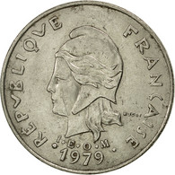 French Polynesia, 20 Francs, 1979, Paris, TTB, Nickel, KM:9 - Polynésie Française