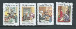 Norfolk Island 1984 Reverend George Nobbs Set 4 FU - Norfolk Island