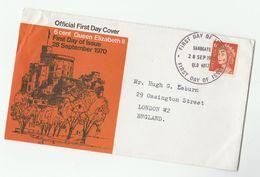 1970 Sandgate AUSTRALIA FDC Stamps 6c Cover - Primo Giorno D'emissione (FDC)