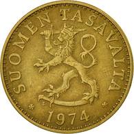 Finlande, 50 Penniä, 1974, TTB, Aluminum-Bronze, KM:48 - Finlande