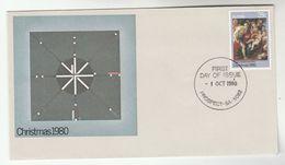 1980 Prospect AUSTRALIA FDC Stamps CHRISTMAS RELIGIOUS ART Cover Religion - FDC