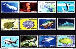 SAMOA 2014. FISHES...12V** U2017k5.3c - Peces