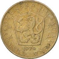Tchécoslovaquie, 5 Korun, 1974, TTB, Copper-nickel, KM:60 - Czechoslovakia