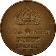 Suède, Gustaf VI, 5 Öre, 1964, TTB, Bronze, KM:822 - Suède