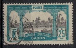 GABON       N°  YVERT     84   ( 1 )      OBLITERE       ( O   2/21 ) - Gabon (1886-1936)