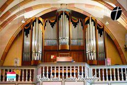 Carte Postale, églises, Churches Of Europe, Luxembourg, Eschweiler, Église Saint-Maurice 5 - Churches & Cathedrals