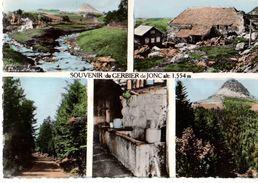 07----souvenir Du GERBIER De JONC Alt:1.554m---multivues---voir 2 Scans - France