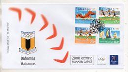 Bahamas - Busta FDC - Sydney 2000 Olympic Summer Games - Con Annullo - Edizione Bolaffi Torino (Italia) - (BPLAST2) - Bahamas (1973-...)