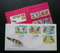 Taiwan Conservation Of Birds 1998 Bird (stamp FDC) *with Pamphlet - 1945-... République De Chine
