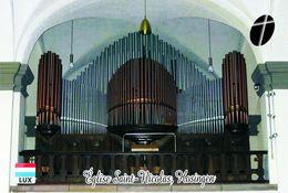 Carte Postale, églises, Churches Of Europe, Luxembourg, Hosingen, Église Saint-Nicolas 12 - Kerken En Kathedralen