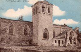 Auzay : L'église - France