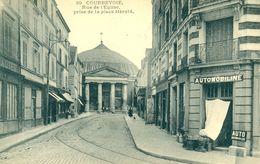 COURBEVOIE (92) - LE GARAGE AUTOMOBILINE EN 1907 - M610x - Courbevoie