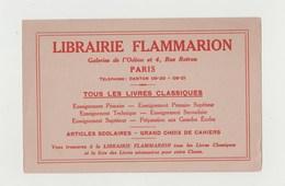 BUVARD LIBRAIRIE FLAMMARION - Stationeries (flat Articles)