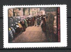Reklamemarke Serie: Jerusalem, Klagemauer Der Juden - Erinnofilia