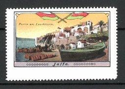 Reklamemarke Jaffa, Partie Am Leuchtturm - Erinnofilie