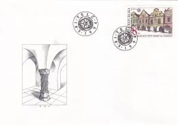 Ceska Republika   FDC 1994 UNESCO (DD11-4) - FDC
