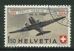 Suisse // Schweiz // Switzerland // Poste Aérienne  //  Zumstein No.40 Oblitéré - Poste Aérienne