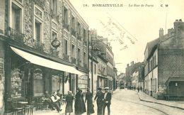 ROMAINVILLE (93) - LE CAFE TABAC RUE DE PARIS - M778X - Romainville