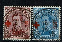 155/56  Obl  St Adresse  49 - 1918 Croix-Rouge