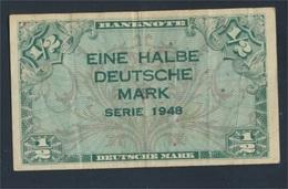 BRD Rosenbg: 230 Gebraucht (III) 1948 1/2 Deutsche Mark (8590307 - [ 7] 1949-… : RFA - Rep. Fed. Tedesca