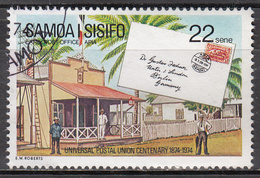 SAMOA     SCOTT NO. 405    USED    YEAR  1974 - Samoa