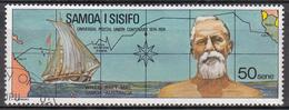 SAMOA     SCOTT NO. 406    USED    YEAR  1974 - Samoa