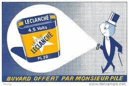 Buvard La Pile Leclanché - Accumulators