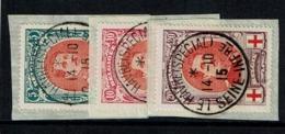 132/34  Obl Frgt Le Havre Spécial - 1914-1915 Cruz Roja