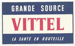 Buvard Vittel Grande Source - Buvards, Protège-cahiers Illustrés