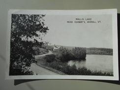 ETATS UNIS VT VERMONT WALLIS LAKE NEAR QUIMBY'S AVERILL VT - Etats-Unis